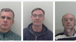 John Evans, Phillip Brown and Nick Winter