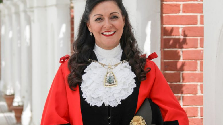 Bromley mayor Hannah Gray